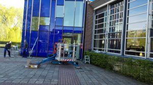 Onderhoudswerkzaamheden Melanchthoncollege Schiebroek