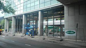 Start montage Terminal zuid